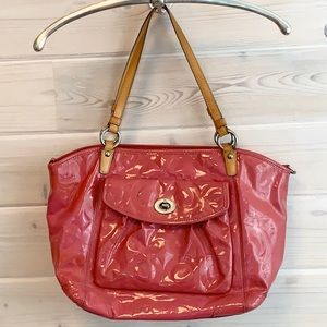 Coach Patent Leather bag